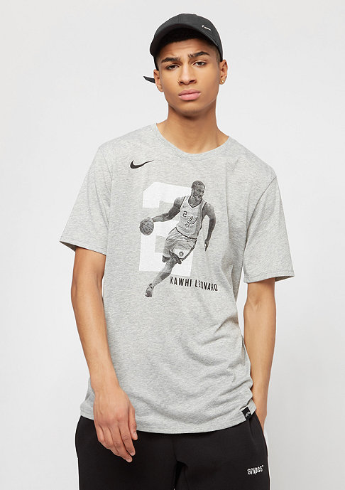 NIKE NBA San Antonio Spurs Kawhi Leonard Player grey heather