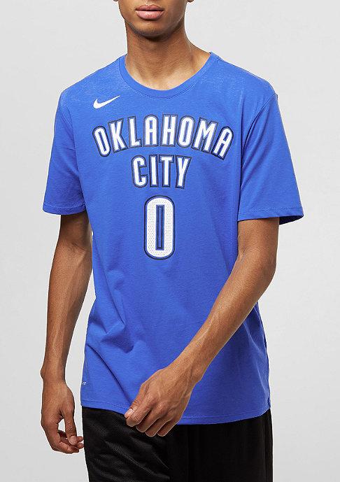 NIKE Basketball T-Shirt NBA Oklahoma City Thunder Westbrook