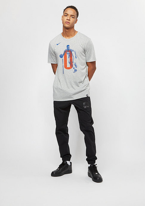 NIKE Basketball NBA Oklahoma City Thunder Russell Westbook Player grey heather