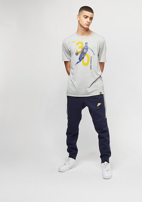 NIKE NBA Golden State Warriors Stephen Curry Player grey heather