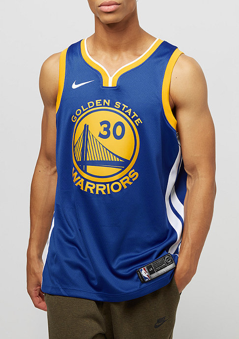 NIKE NBA Golden State Warriors Stephen Curry rush blue/white/amarillo