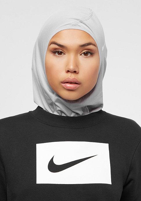 NIKE Pro Hijab atmosphere grey/white
