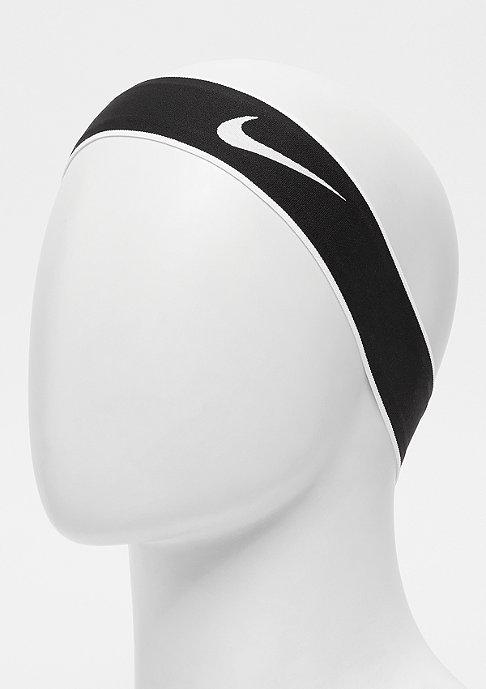 NIKE Pro Swoosh Headband 2.0 black/white