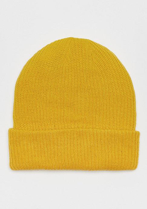 NIKE SB Fisherman Beanie yellow ochre/obsidian