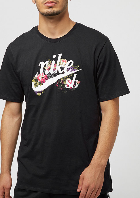 NIKE SB Floral Logo black/white