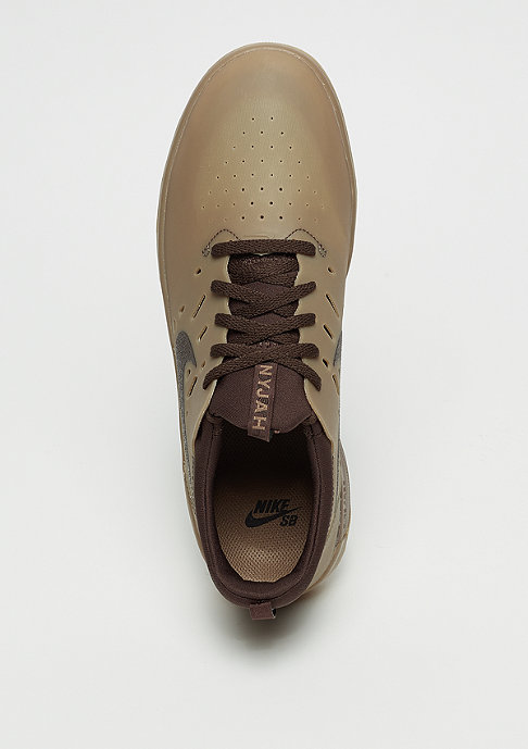 NIKE SB Nyjah Free gum dark brown/baroque brown