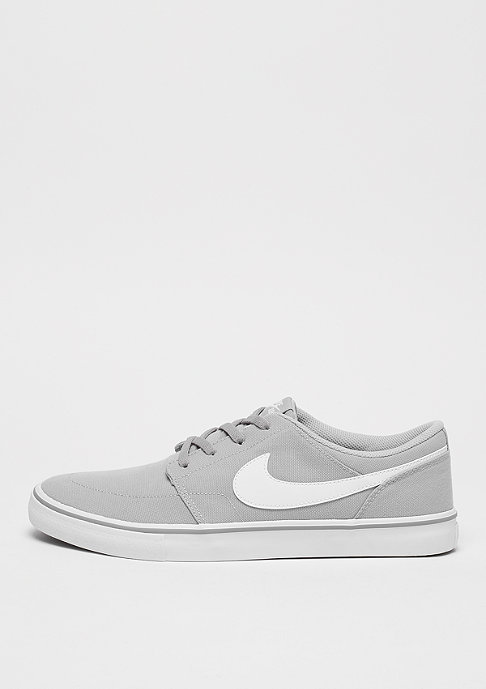 NIKE SB Solarsoft Portmore II Canvas wolf grey/white/black