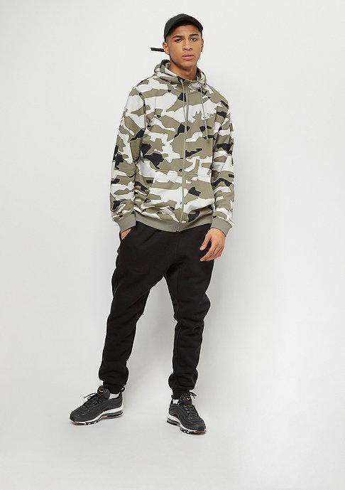 NIKE Sportswear Hoodie Camo light bone/sail/black/sail