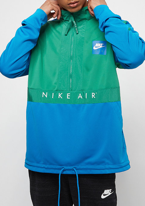 NIKE Sportswear Top Air HZ green noise/blue nebula/anthracite