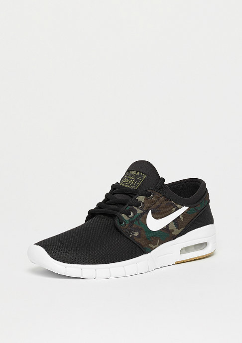 NIKE SB Stefan Janoski Max (GS) black/white-medium olive-gum light brown