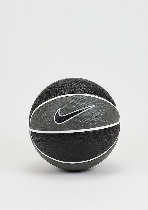 NIKE Basketball Swoosh dark grey/black/white