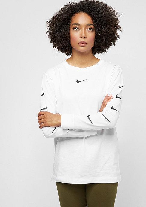 NIKE Swoosh white/white/black