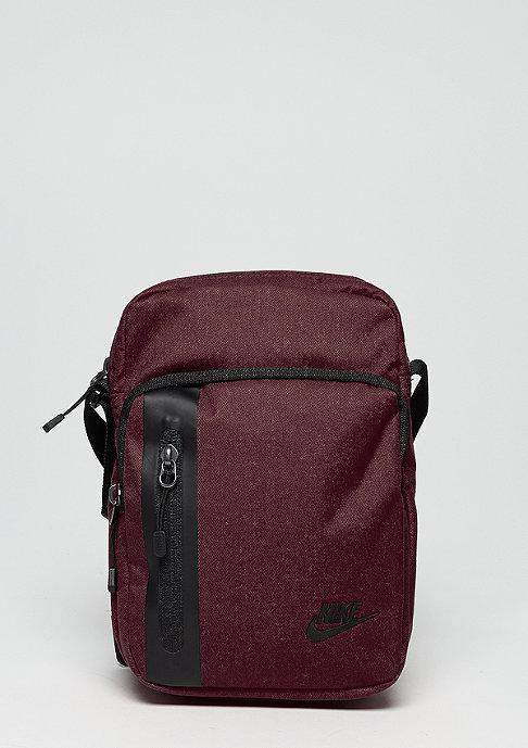 NIKE Tech Small Items Bag burgundy crush/black/black