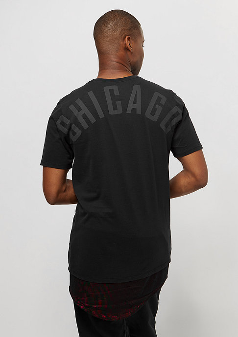 NIKE Tee NBA Chicago Bulls black/universita red