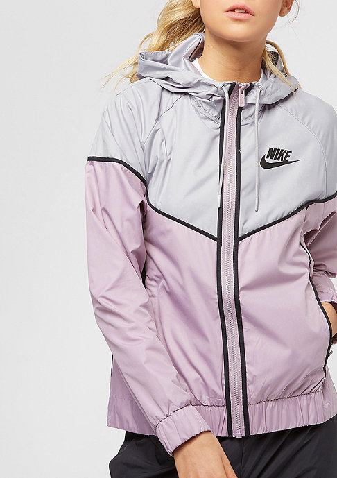 NIKE WR JKT elemental rose/atmosphere grey/black