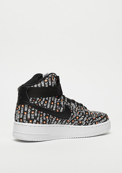 NIKE Wmns Air Force 1 High LX black/black-white-total orange