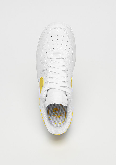 NIKE Wmns Air Force 1 white/vivid sulfur-white