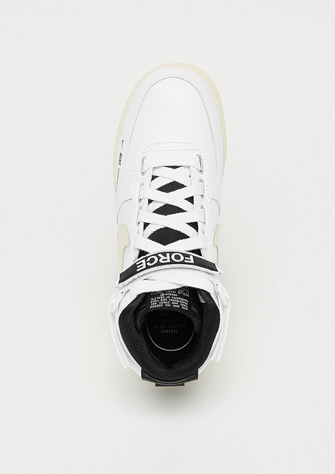 NIKE Wmns Air Force 1 high utility white/light cream-black-white