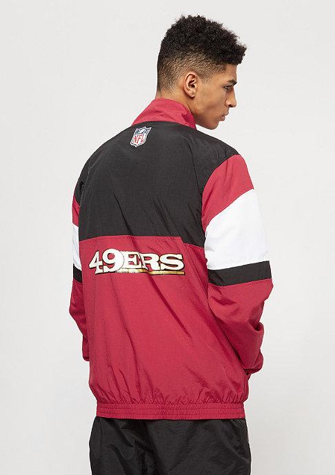 New Era F-O-R San Francisco 49ers scarlets