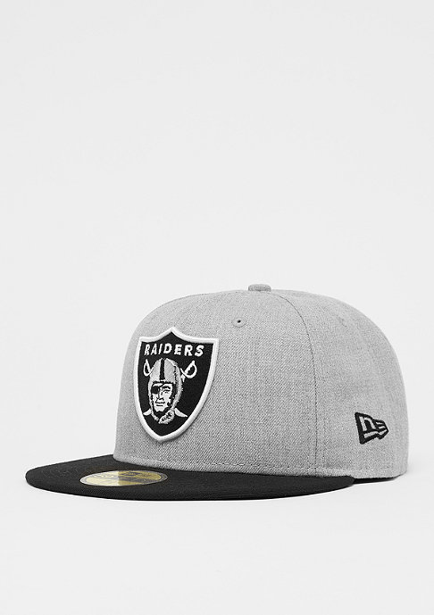 New Era 59Fifty NFL Oakland Raiders Heather gray/otc