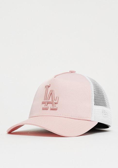 New Era 9Forty Trucker MLB Los Angeles Dodgers Satin pink/pink