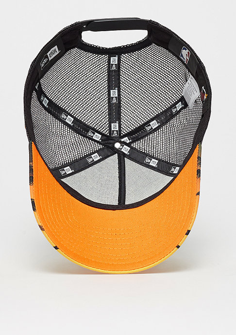 New Era 9Forty NBA Miami Heat Coastal Heat orange/dark green/multi