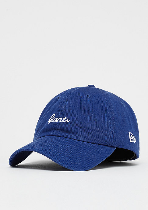 New Era 9Forty NFL New York Giants Mini Script official team colour