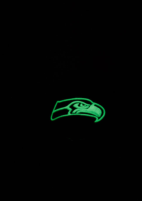 New Era 9Forty Team GITD Basic NFL Seattle Seahawks black