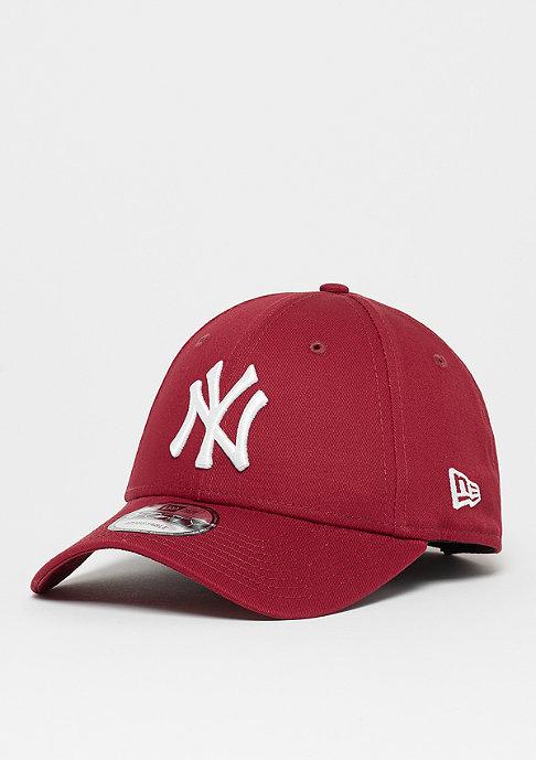 New Era 9Forty MLB New York Yankees Essential maroon/white