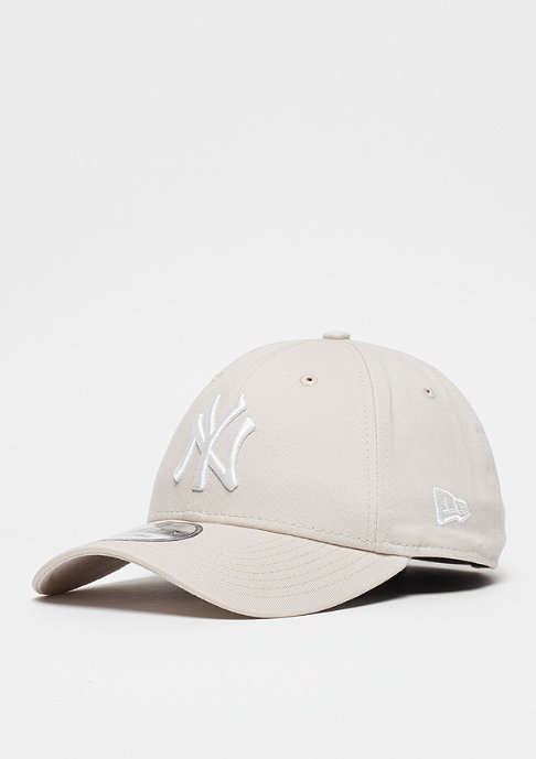 New Era 9Forty MLB New York Yankees Essential stone/white
