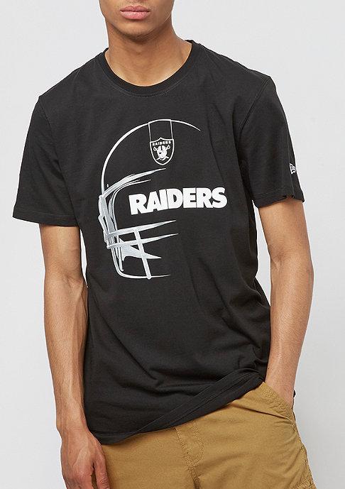 New Era Headshot NFL Oakland Raiders black