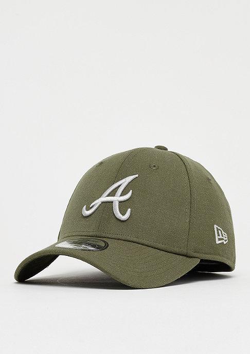 New Era 39Thirty MLB Atlanta Braves Heather 3930 army/gray