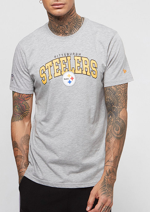New Era Timeless Arch NFL Pittsburgh Steelers light grey heather