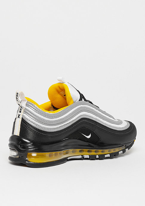 NIKE Air Max 97 black/white/amarillo