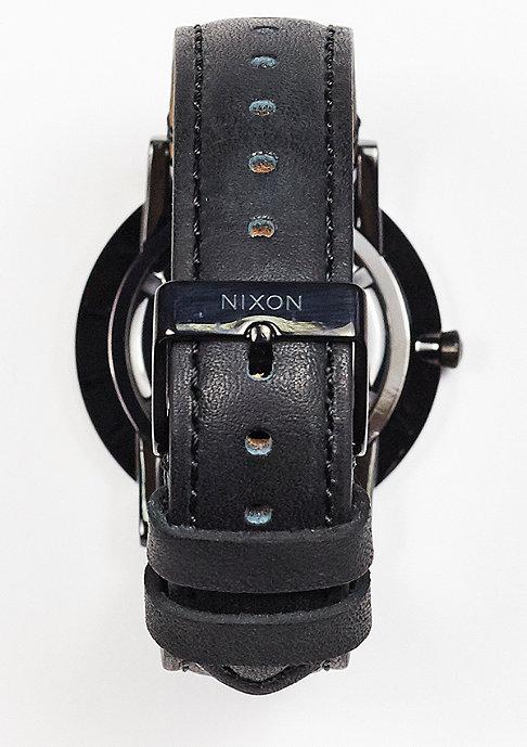 Nixon Uhr Porter Leather all black