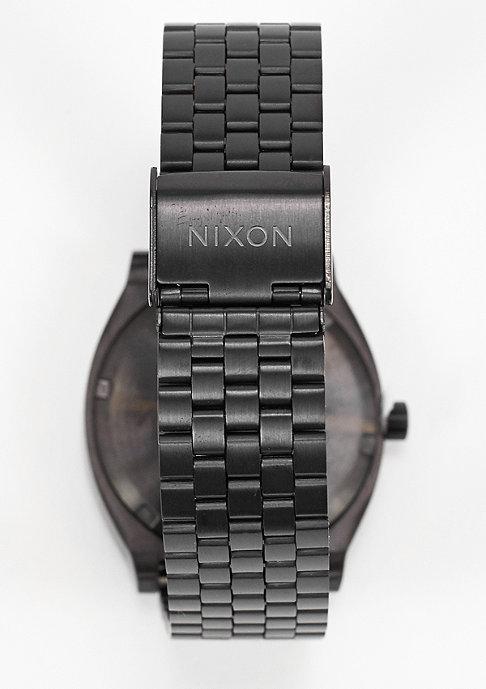 Nixon Uhr Time Teller all black