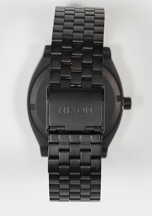 Nixon Uhr Time Teller all black/surplus