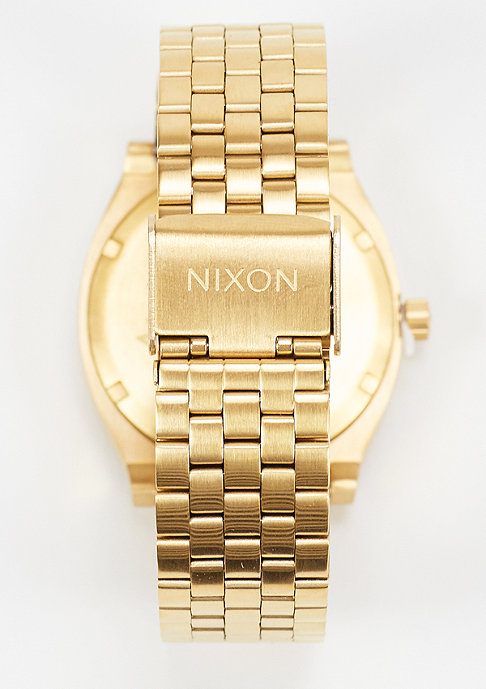 Nixon Uhr Time Teller all gold