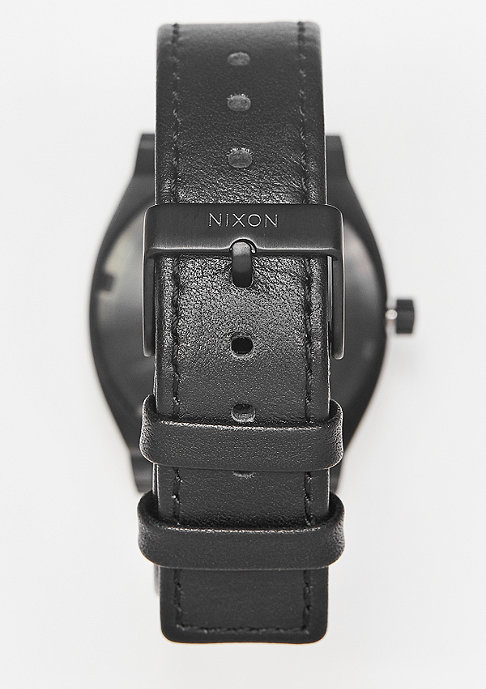 Nixon Time Teller all black/white