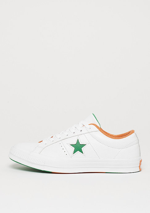 Converse One Star Ox white/green/tangelo