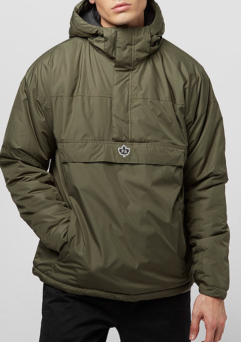 Park Authority Hooded Halfzip tarmac