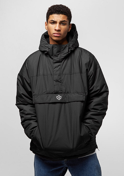 Park Authority Hooded Halfzip black
