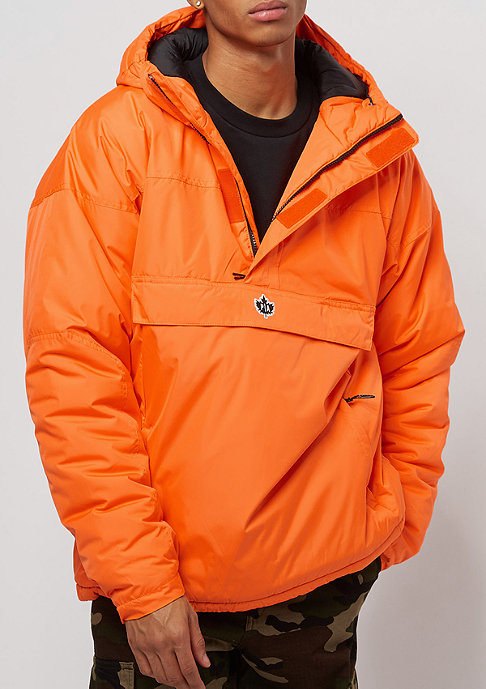 Park Authority by K1X Hooded Halfzip orange