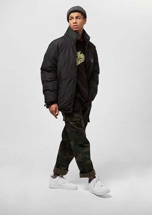 Park Authority Puff Reversible black/dark olive
