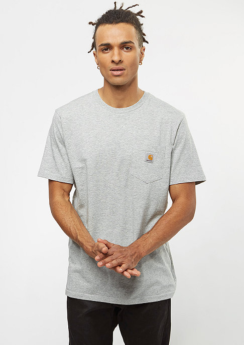 Carhartt WIP Pocket T-Shirt heather grey