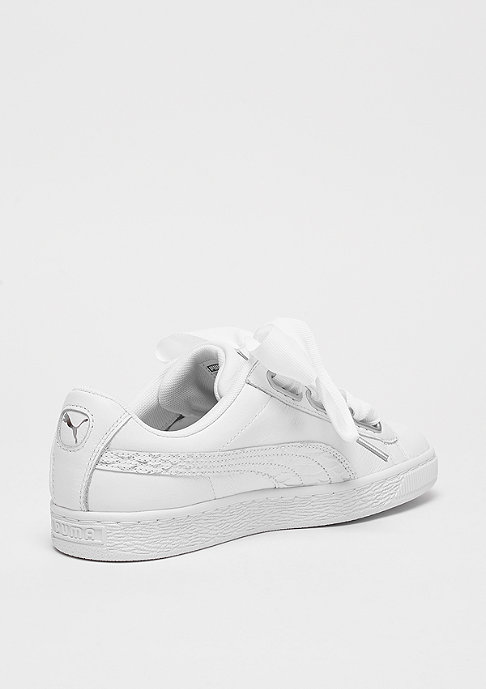 Puma Basket Heart Oceanaire puma white-puma white