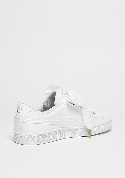 Puma Schuh Basket Heart white/white