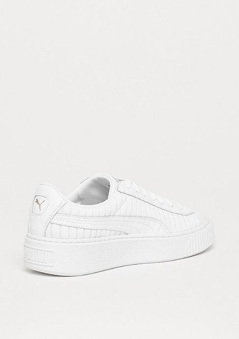Puma Basket Platform EP white-white-white
