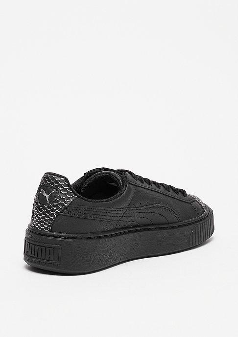 Puma Basket Platform Ocean puma black-puma silver-puma black