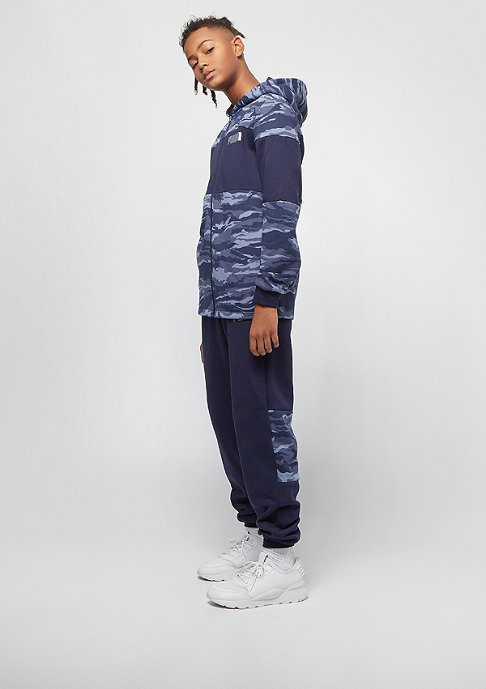 Puma Kids Dark Camo Bling Takedown AOP navy